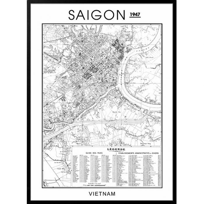 Bản đồ Sài Gòn